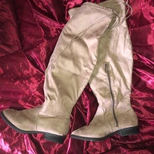NWOT Charlotte Russe Thigh High Boots